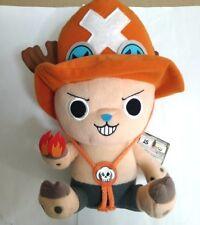 One Piece Plush Doll Chopper with Ace Version 35cm Kawaii Rare NFS Anime F/S