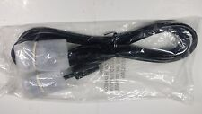 """new black  heavy duty 6"""" vga cable male to male m/m pc tv 15 pin w/ emc filter"""