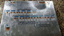 Transformers - Season 2: Part 1 (DVD, 2002, 4-Disc Set)