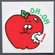 Vintage TREND Stinky Stickers JUICY APPLE matte Scratch-N-Sniff sticker