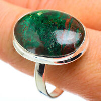 Large Chrysocolla 925 Sterling Silver Ring Size 13 Ana Co Jewelry R41171F