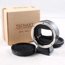 Techart EOS-NEX III Auto Focus Adapter Canon EF mount lens to Sony E A7 A7R II