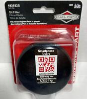 Briggs & Stratton 492932S Oil Filter New In Box D1