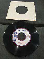 45 tours Paul Peek - Short Shortnin' - NRC No. 025 - (COMME NEUF - NM)