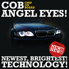 BMW ALL E36 or E46 NON PROJECTOR COB LED 4 RINGS SERIOUSLY BRIGHT ANGEL EYES NEW