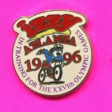 1996 OLYMPIC PIN IZZY CYCLING IN TRAINING PIN 2020 OLYMPIC TRADER PIN