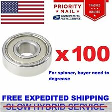 Wholesale Lot (100) Bearing 608ZZ 8x22 mm 608Z Metric Ball Bearings cnw 8mm/22mm