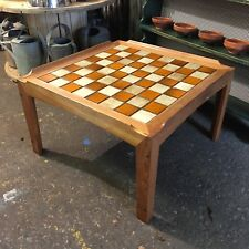 Vintage Trioh Teak Coffee Table Mid Century Rare Retro Tiled 60/70s