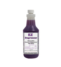 EZ Degreaser - Concentrated, Heavy-Duty, Alkaline, Butyl-Based Cleaner by Detco