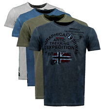 T-shirt maglia GEOGRAPHICAL NORWAY maniche corte Short Sleeves JERGEN men uomo 1