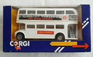 Corgi Routemaster London Transport Route 24 Victoria Street in White - BNIB