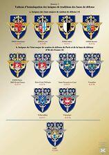Répertoire des insignes des bases de défense - BdD - GSBdD - Arthus Bertrand