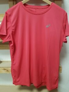 T-Shirt Asics Bright Pink Donna fitness