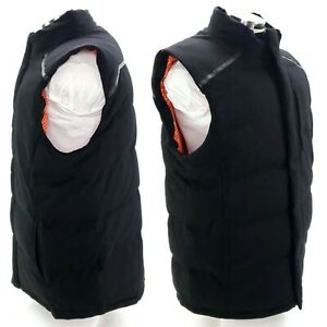 Under Armour UA Coldgear Infrared Mens 2XL Black Magnetic Full Zip Cashmere Vest