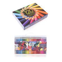matite colorate in legno set artista pittura a olio colore matita per il di S5F3