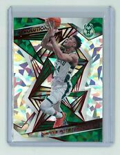 Giannis Antetokounmpo 2019-20 Revolution Basketball New Year Red Cracked Ice