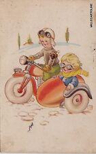 # BAMBINI IN SIDE-CAR   1948