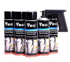 Unterbodenschutz Spray 6x500ml schwarz Bitumen mit SprayMax Handgriff E0195