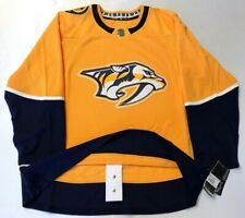 NASHVILLE PREDATORS size 46 Small - ADIDAS NHL HOCKEY JERSEY Climalite Authentic