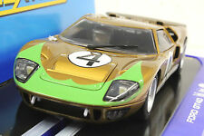 SCALEXTRIC C3026 DONOHUE FORD GT40 W/LIGHTS NEW 1/32