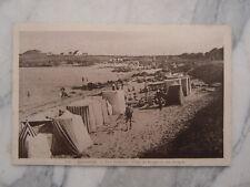 Ancienne carte postale de Quiberon Port Haliguen plage de Porigo ou des émigrés