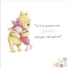 Disney Winne The Pooh - We'll Be Friends Forever - Blank / Birthday Card
