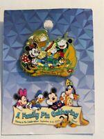 WDW A Family Gathering Artist Choice Picnic Mickey Minnie Pluto Disney Pin (B)