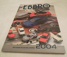 Ebbro Model Car Official Catalog 2004 1/43, 1/20 & 1/24 Cars, New Ships from USA