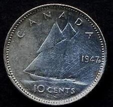 CANADA 10 Cents 1947 M.L.  AG