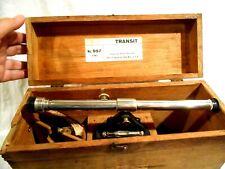 Starrett Transit #99-F in Original wood box