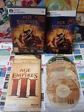PC CD-Rom:Age of Empires III Edition Complete [TOP & RARE] COMPLET - Fr