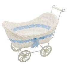 Baby New Born Gift Hamper Wicker Basket Baby Shower Party Gifts Boys Girls Pram