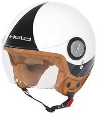 Jethelm Gr.XS weiß Held MC Corry Jet Helm mit klarem Visier Motorrad Roller NEU