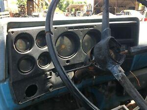 1973-1980 Chevrolet GMC truck interior dash panel instrument cluster