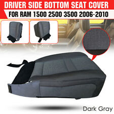 Left Driver Side Bottom Cloth Seat Cover For Dodge Ram 1500 2500 3500 2006-2010