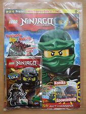 LEGO NINJAGO 7/2017 + COLE + Frog Limited Edition Mini Figure + 2 posters