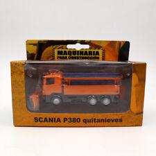 Maquinaria Para Construccion 1/87 Scania P380 Quitanieves Diecast Model Edition