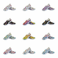 Medical Printed Women's Breathable Sport Running Casual Flat shoes Slip On Shoes