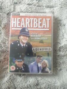 Heartbeat Series 3 & 4 DVD - 7 Discs - RARE boxset