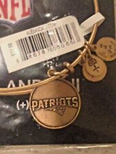 Alex and Ani New England Patriots Bracelet ~ Russian 686787080Gold ~ New w/ Tag