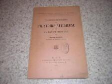 1925.sources manuscrites de l'histoire religieuse France moderne / Bourgin