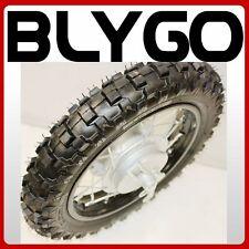 "2.50- 10"" Inch Front Drum Brake Wheel Rim + Tyre Tire PIT PRO Trail Dirt Bike"