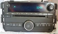 09 10 Buick Lucerne Radio Cd Player 25992378  BF 22