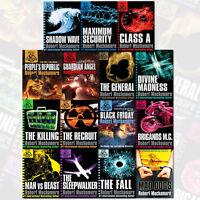 Cherub Series 15 Books Collection Set By Robert Muchamore (Class A, Recruit) New