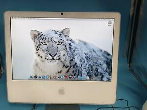 """Apple iMac 4,1 2006 A1174 20"""" Core Duo 2.0GHz 1.5GB RAM 250GB HDD OSX 10.6 SL9"""
