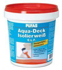 Pufas Aqua-Deck Isolierweiß E.L.F. Isolierfarbe Anti Nikotin Farbe - 750 ml NEU