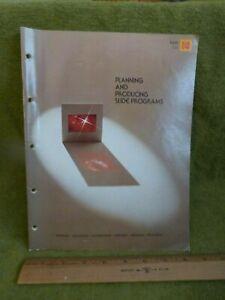 Kodak Planning and Producing Slide Programs