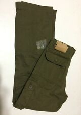 Ruff Hewn Relaxed Fit Pants For Men 30x32 Dark Green NWT