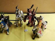 4 x Mounted Papo Knights Bundle - H