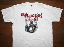 SNARLING DOGS / GUITAR EFFECTS PEDALS MUSIC GEAR / WHITE T- SHIRT SIZE XL